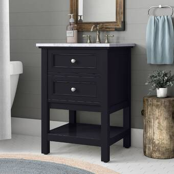 Belmont Decor Auburn 36 Single Bathroom Vanity Set With Mirror Wayfair