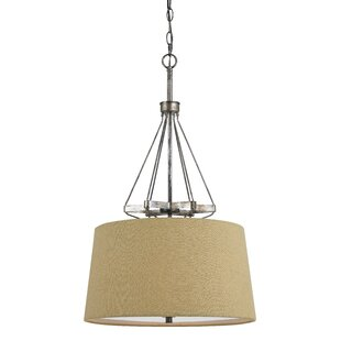 August Grove Chateau 3-Light Cone Pendant