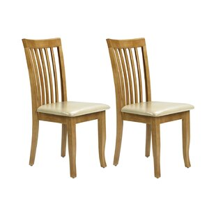 Navi Solid Wood Dining Chair (Set Of 2) By Brambly Cottage