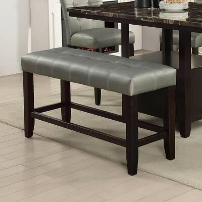 Porthos Home Delia Faux Leather Bench Reviews Wayfair