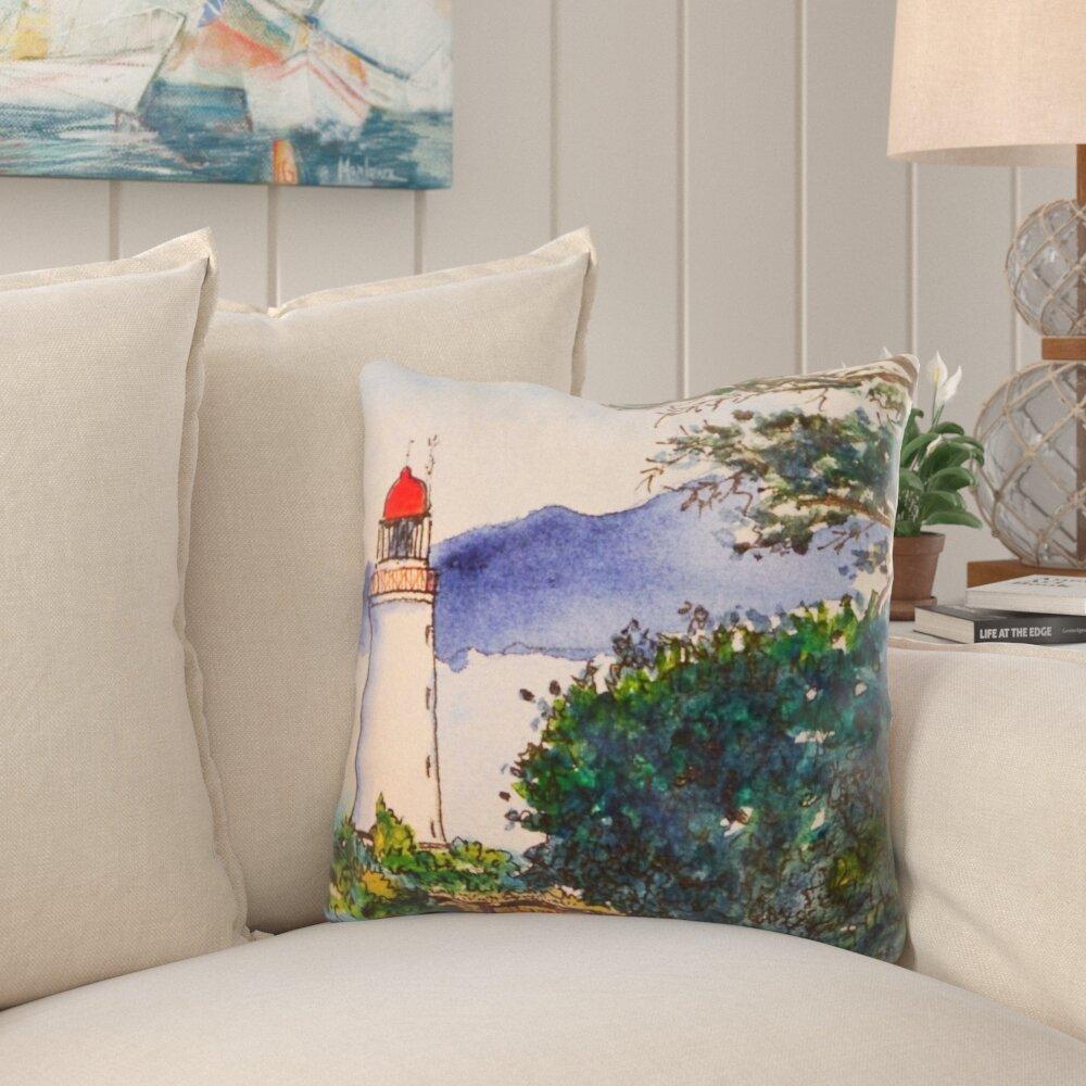 Breakwater Bay Perreault Watercolour Throw Pillow Wayfair