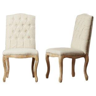 Attirant Bernadine Upholstered Dining Chair (Set Of 2)