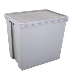 Bam Upcycled 154 L Plastic Storage Box By Symple Stuff