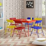 Adrian Kids 7 Piece Arts and Crafts Table and Chair Set by Zoomie Kids