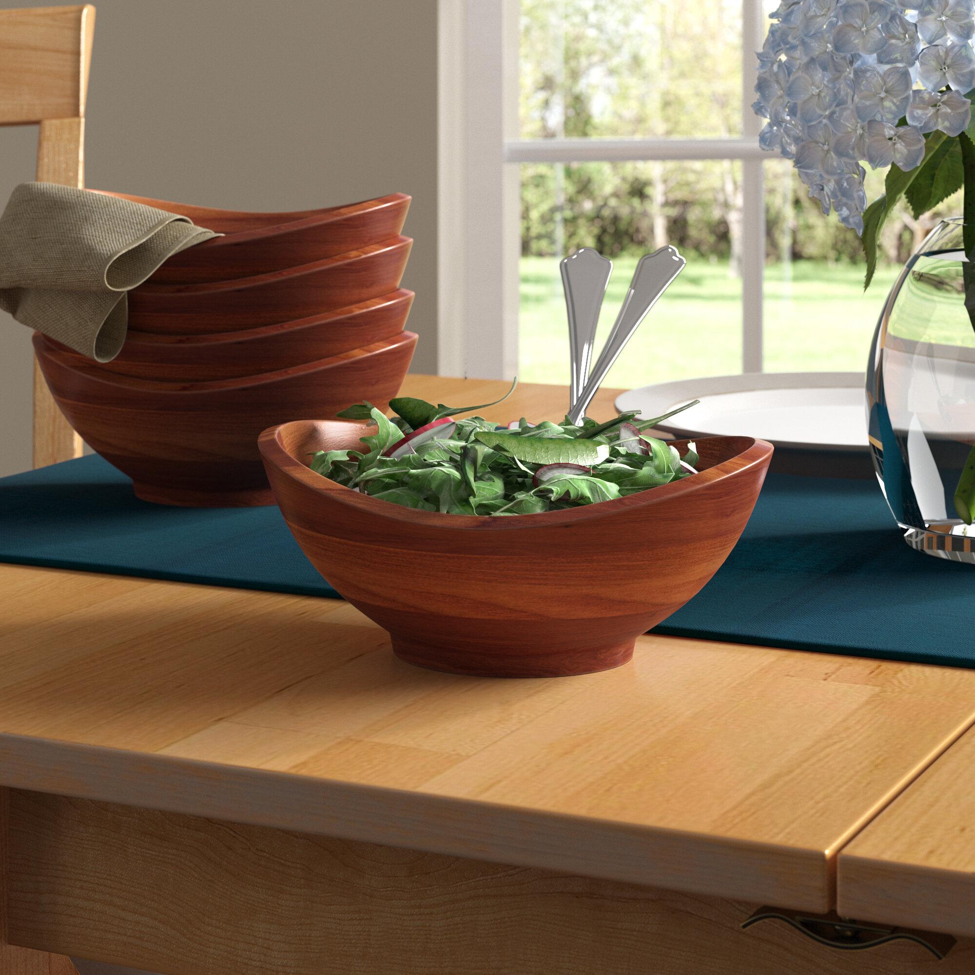 Millwood Pines Magdy Individual 4 Piece Salad Bowl Set Reviews Wayfair