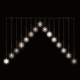 Snowflake Warm White LED Curtain By The Seasonal Aisle