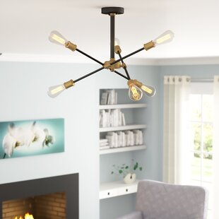 Wrought Studio Mullet 6-Light Directional & Spot