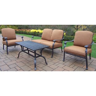 Bosch 4 Piece Sunbrella Sofa Set with Cushions