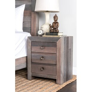 Find for Abbey 3 Drawer Nightstand By Mistana