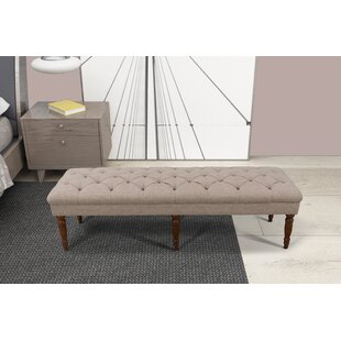Hodapp Layla Tufted Upholstered Bench by Alcott Hill Fresh