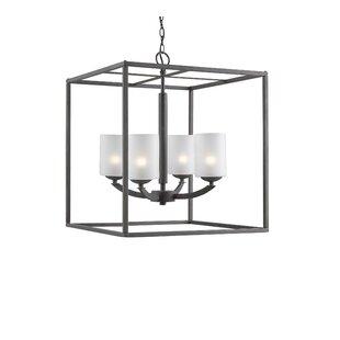 Ebern Designs Heavner 4-Light Foyer Pendant