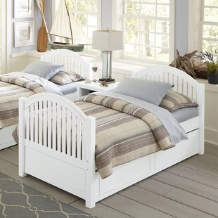 Nickelsville Twin Platform Bed With Trundle by Three Posts Discount
