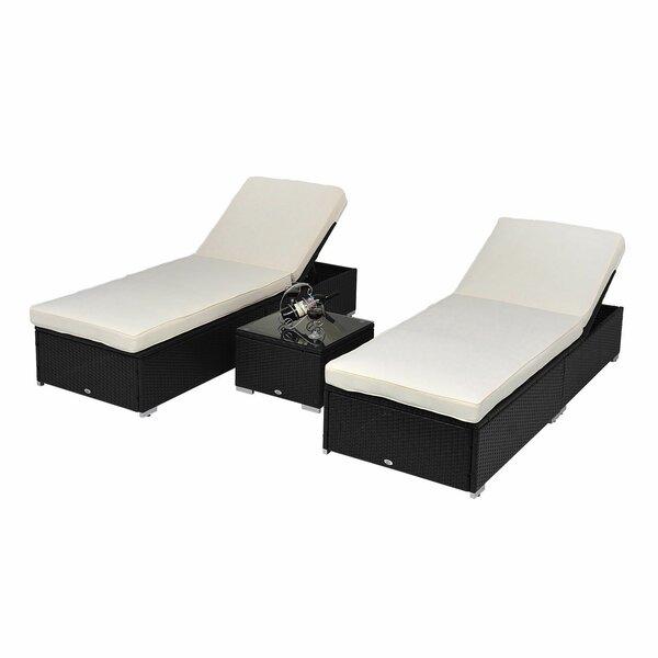 Piece Lounge Rattan Seating Group
