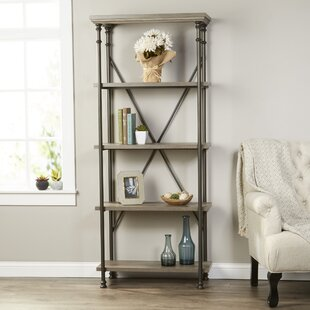 Top Reviews Oakside Etagere Bookcase By Three Posts