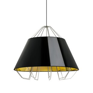Orren Ellis Davies 3-Light Dome Pendant