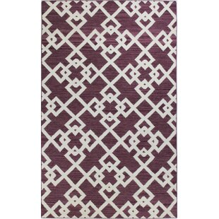 Affordable Rockport Lilac Area Rug By Bashian Rugs