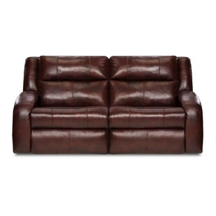 Southern Motion Maverick Leather Reclining Loveseat