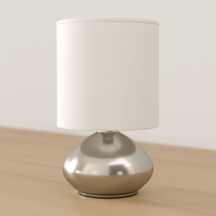 Ariana Mini Touch 9 2 Table Lamp With Drum Shade Set