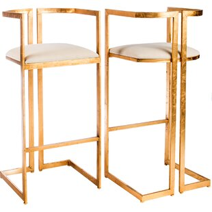 Miloh Bar Stool (Set of 2) by Statements ..