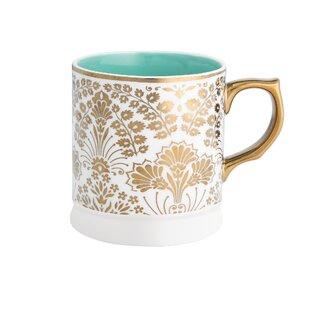 Ana Davis Lola Shimmer Refined Coffee Mug (Set of 4)