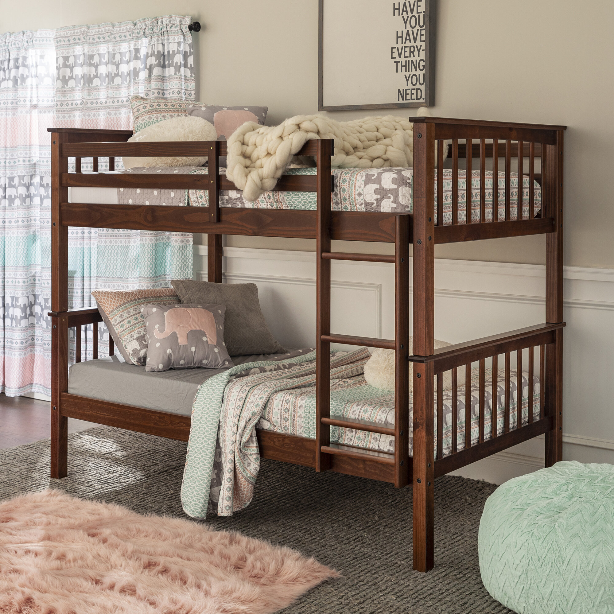 Callam Twin Over Twin Bunk Bed Reviews Allmodern