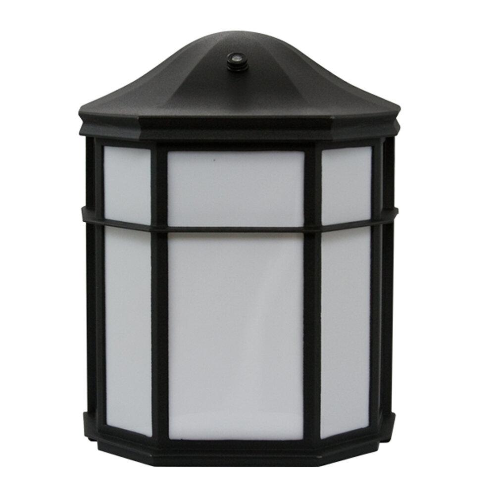 Efficientlighting 1 Bulb Outdoor Wall Lantern With Dusk To Dawn Wayfair