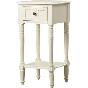 Everly 1 Drawer End Table by Andover Mills