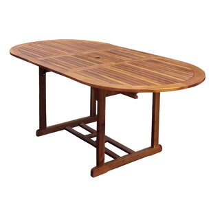 Anja Extendable Wooden Dining Table By Sol 72 Outdoor