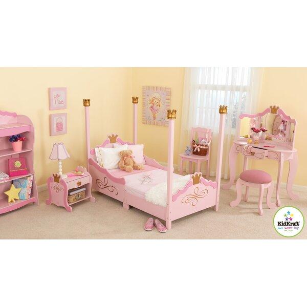 Kidkraft Princess Toddler Four Poster Configurable Bedroom Set