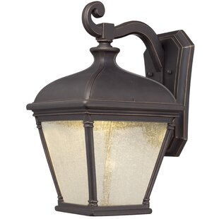 America 1-Light Outdoor Wall Lantern by Darby Home Co Discount
