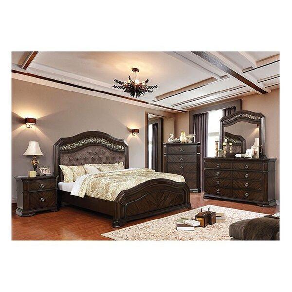 Fleur De Lis Living Robert California King Upholstered Standard Configurable Bedroom Set Reviews Wayfair
