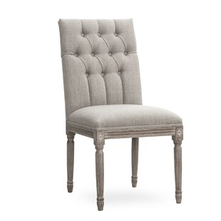 Orlando Upholstered Dining Chair (Set of 2) Ophelia & Co.