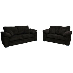 Victoria 2 Piece Sofa Set By Winchester Leather Ltd