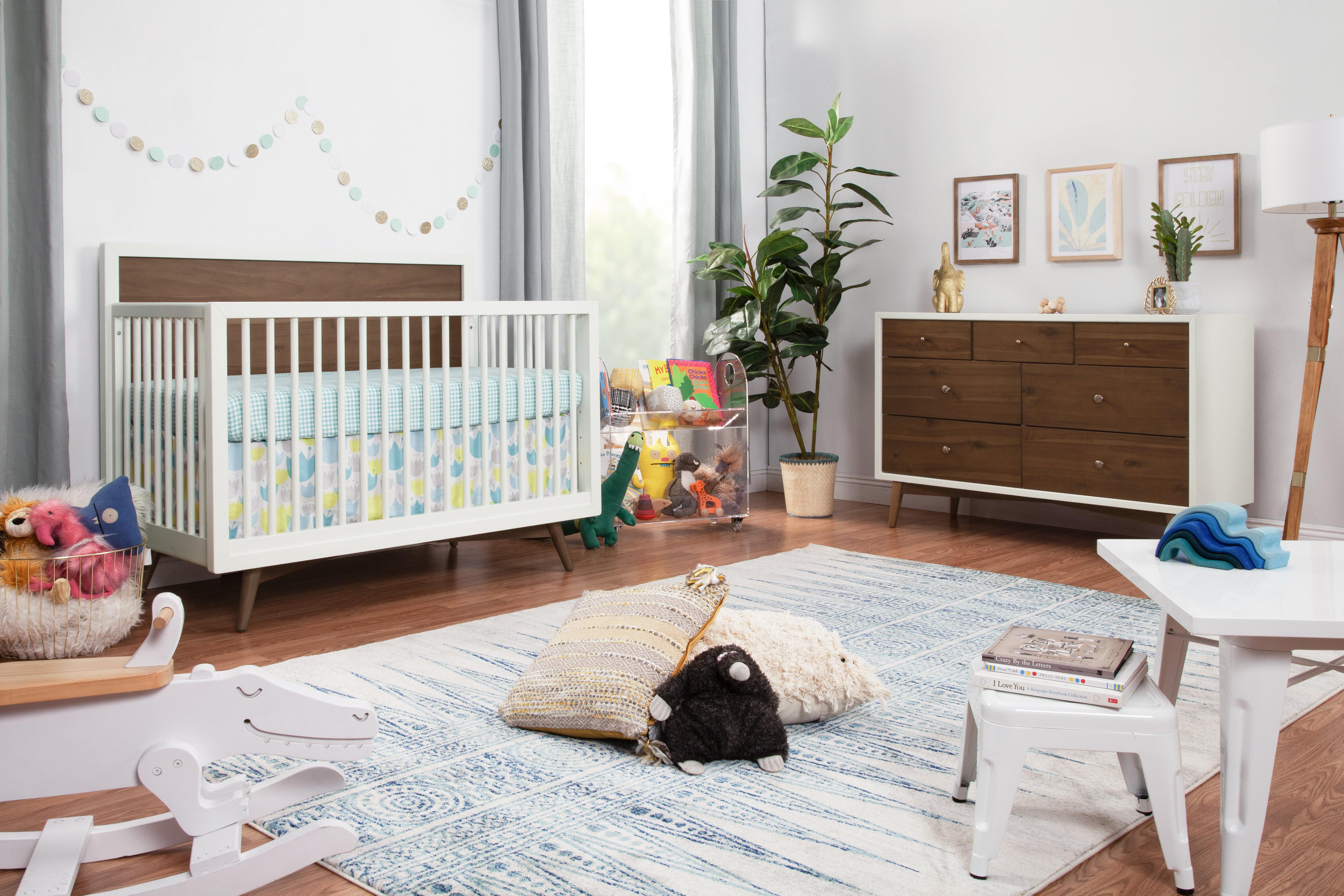 Palma Convertible Standard 2 Piece Nursery Furniture Set