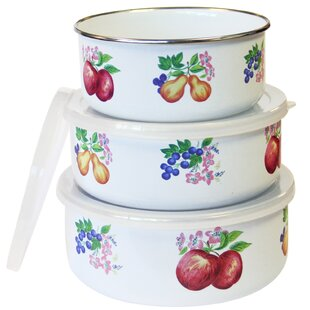 Chutney 3 Container Food Storage Set By Corelle