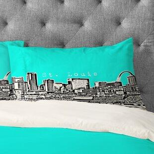 Bird Ave Street Louis Pillowcase
