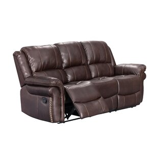 Monteith 3 Piece Leather Reclining Living Room Set