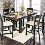 Shaver 7 Piece Solid Wood Dining Set by Gracie Oaks
