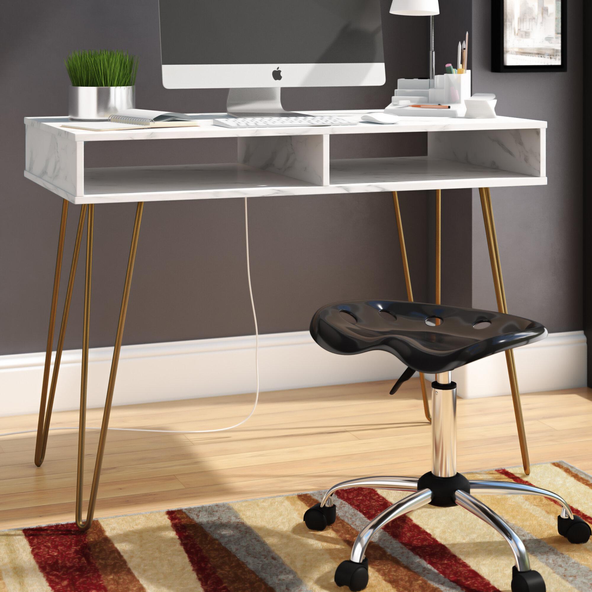 Novogratz Athena Desk & Reviews   Wayfair