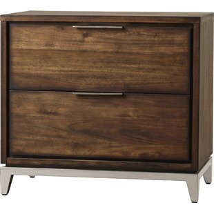 Reviews Miriam 2 Drawer Nightstand by Sunpan Modern