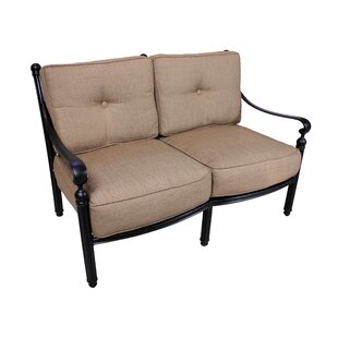 Baldwin Deep Seating Loveseat With Sunbrella Cushions by California Outdoor Designs Great Reviews