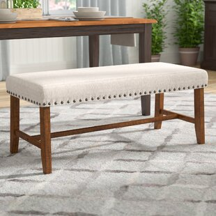 Laurel Foundry Modern Farmhouse Montagnes Upholstered Bench