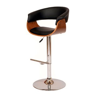 March Height Adjustable Swivel Bar Stool By Corrigan Studio