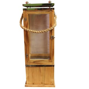Longshore Tides Wood Lantern