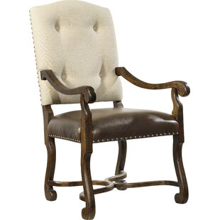 Treviso Upholstered Dining Arm Chair (Set..