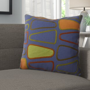 Geddes Cotton Throw Pillow