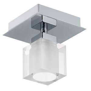 Soho 1-Light Semi Flush Mount