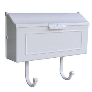 Horizon Horizontal Wall Mounted Mailbox