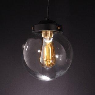 Joao 1-Light LED Globe Pendant by Wrought Studio