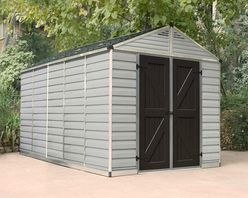 9 in w x 12 ft 5 in exellent garden sheds x